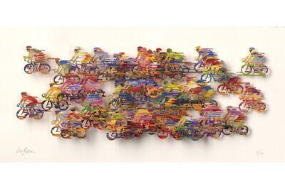 David Gerstein, 'Peloton - Paper Cut', 2007
