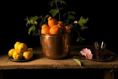 Paulette Tavormina, 'Lemons and Peony, after F.d.Z.', 2009