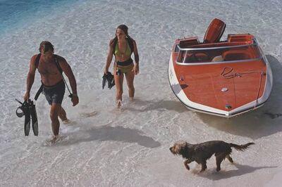Slim Aarons, 'Snorkeling Holiday', ca. 1975