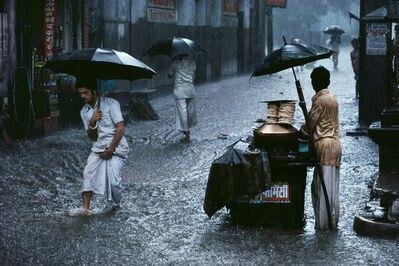 Steve McCurry, 'Man in Monsoon, India, 1983', 1983