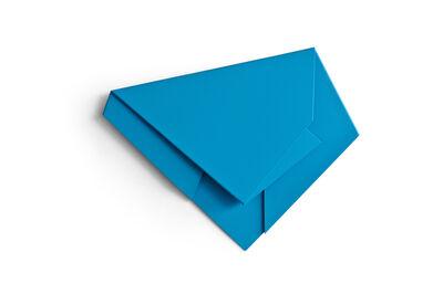 Sébastien de Ganay, 'Blue Folded Flat 04', 2015
