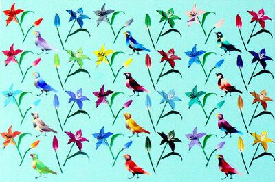 Yuko Obe, 'Birds and flowers', 2013
