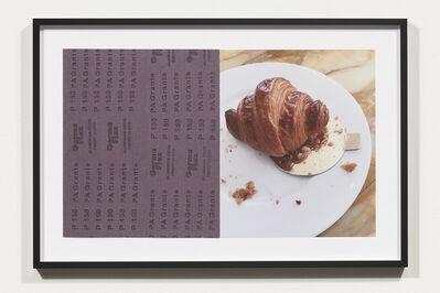Nicole Wermers, 'Croissants & Architecture #3', 2016