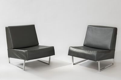 Pierre Guariche, 'Pair of low chairs FG2 - Courchevel', 1959/1960