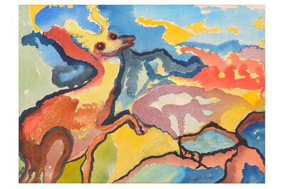Grace Pailthorpe, 'Surrealist landscape'