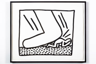 Keith Haring, 'Untitled (Man under Foot)', 1982