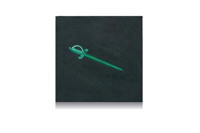 Rachel Pontious, 'Suitmarks: Swords', 2021