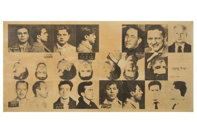 Andy Warhol, '13 Most Wanted Men', 1967