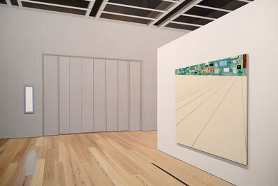 Sarah McKenzie, 'Exhibition Space (Whitney Museum with Laura Owens, 2018)', 2020