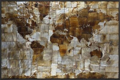 Gregory Block, 'World Map', 2013