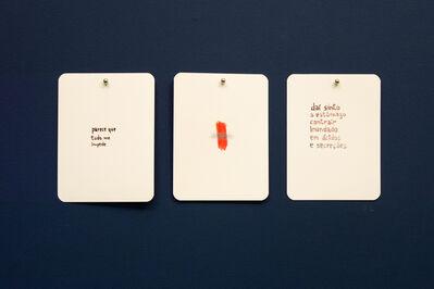 Maíra das Neves, 'AC (Baralho Urgência) - da série Um Lance de Cartas [AC (Urgency Cards) - A Throw of Cards series]', 2013