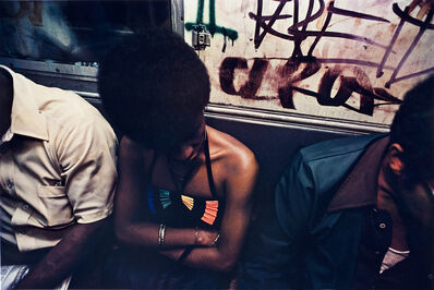 Bruce Davidson, 'Untitled, Subway, New York', 1980