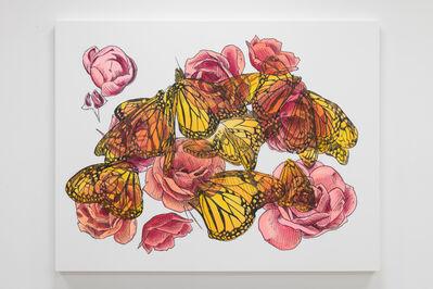 Mieke Marple, 'Eternal (Metamorphosis/Roses)', 2019