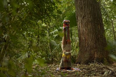 Nilbar Güres, 'Headstanding Totem', 2014