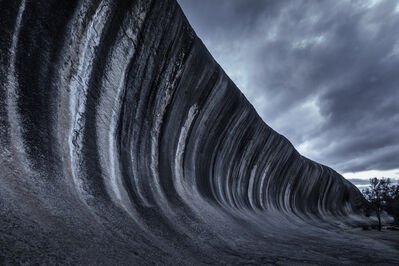 Tom Jacobi, 'The Wave, Western Australia, from the series »Grey Matter(s)«', 2014