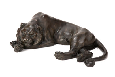 NON NAME, 'Bronze Lion Ornament 20 0327', ca. 1880~