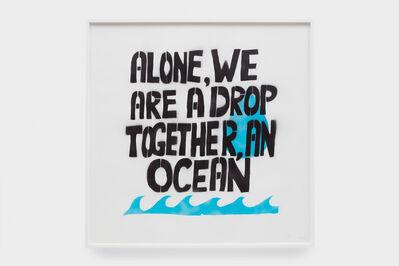 Sam Durant, 'An Ocean...', 2018