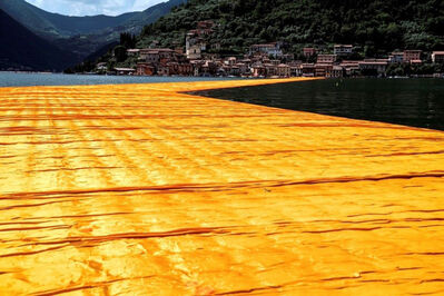 Christo and Jeanne-Claude, 'Lago d'Iseo - WV21', 2016