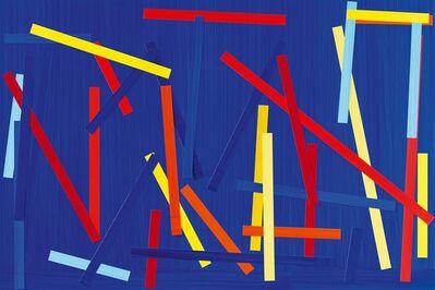 Imi Knoebel, 'Fishing blue I E', 2007/2009