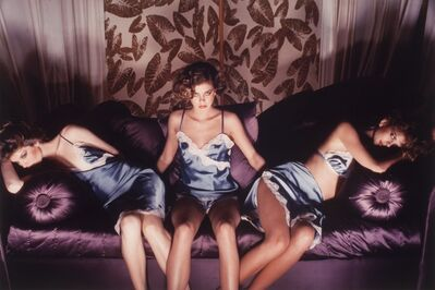 Guy Bourdin, 'Sighs and whispers, Bloomingdales Catalogue', 1976
