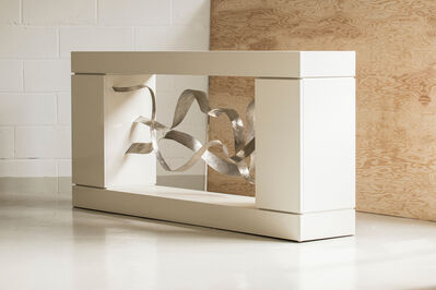 "Jacques Jarrige, 'CONSOLE -Sculpture -Cabinet by JACQUES JARRIGE ""Waves""', 2016"