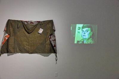 Frau Fiber, 'Transformational Soviet Hippie Poncho Knockoff', 2017