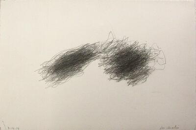William Anastasi, 'Walking Drawing', 2014