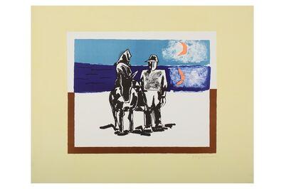 Josef Herman RA, 'On the Way Home', 1974