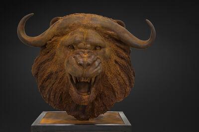 Mauro Corda, 'Lion-Buffalo Head', 2016
