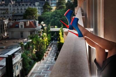 David Drebin, 'Heels in Monte Carlo', 2018
