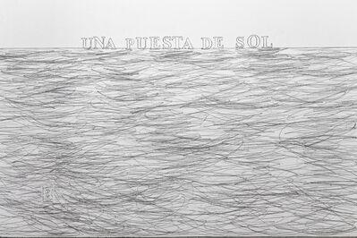 Cynthia Gutiérrez, 'En la lejanía próxima / In The Proximate Remoteness', 2012