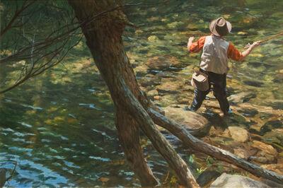 Warren Prosperi, 'By the Fallen Tree, Quabbin Reservoir, Massachusetts', 2013