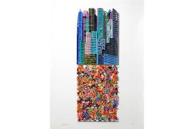David Gerstein, 'Cosmopolis - Paper Cut', 2016