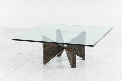 Paul Evans (1931-1987), 'Paul Evans, Sculpted Steel Cocktail Table (PE 12-42), USA', 19060-1969