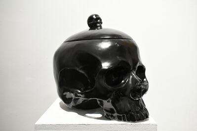 Huang Yulong 黄玉龙, 'Skull Black', 2016