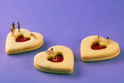 Christopher Boffoli, 'Heart Cookie Hot Tubs', 2021