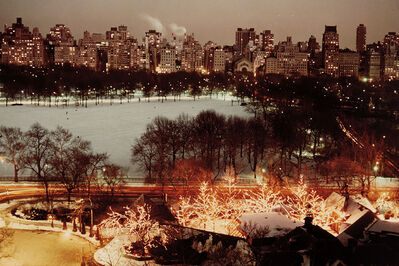 Ruth Orkin, 'Holiday Lights at Tavern-on-the Green, Central Park and 5th Ave.', 1976