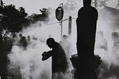 Ed van der Elsken, 'Cemetery of Tokyo Temple', 1959-vintage print
