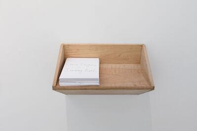 Lauren Faigeles, 'Untitled Shelf with Drawings'