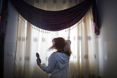 "Tanya Habjouqa, '""Her Crowning Glory""', 2015"
