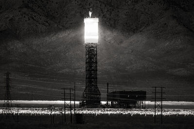 John Custodio, 'Solar Power Tower, Ivanpah Solar Power Facility, California'