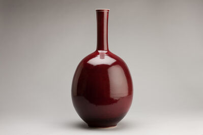 Brother Thomas Bezanson, 'Large vase, copper red glaze', n/a