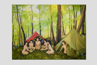 """Su-en Wong, 'The Forest VI - """"Sharing""""', 2015"""