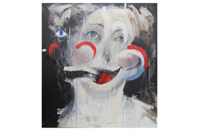 Charlie Isoe, 'Red, White and Blue We Love You (Cliche Painting)', 2010