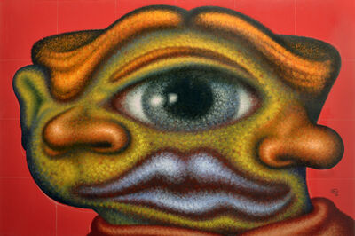 Peter Saul, 'Cyclops', 1989