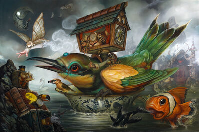 Greg 'Craola' Simkins, 'No Strings', 2017