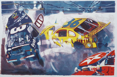 Malcolm Morley, 'Death of Dale Earnhardt II', 2005