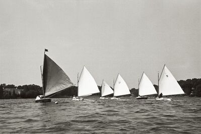 Priscilla Rattazzi, 'Sailing around the Pond Regatta, East Hampton', 1998