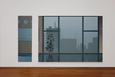 Alex Dordoy, 'The Man in the White Suit I & II', 2014