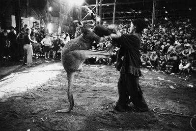 Akira Tanno, 'Boxing, Kigure Circus', 1957-vintage print